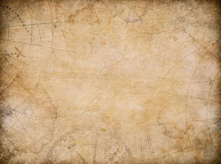 wieku skarb mapa ilustracji