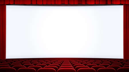 cinema screen backgound cropped with 16:9 aspect ratio