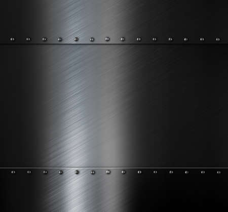 steel bar: Dark brushed metal sheet background