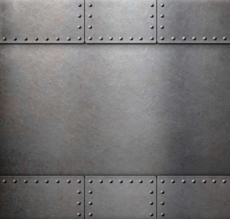 rivets: metal with rivets armour background