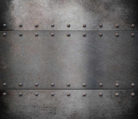 old steam punk metal background Banque d'images