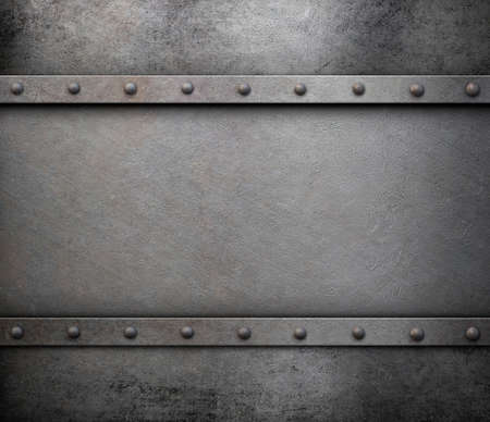 armoring: old rusty medieval metal background Stock Photo