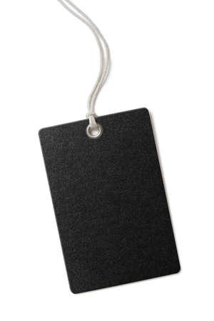 etiquetas de ropa: el precio de papel en blanco o etiqueta de regalo aislado en blanco