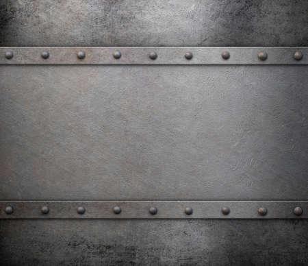 steel plate: old rusty grunge metal background