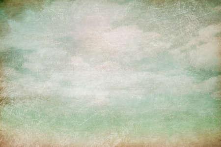 himmel hintergrund: bewölkten Himmel alten Vintage-Hintergrund Lizenzfreie Bilder