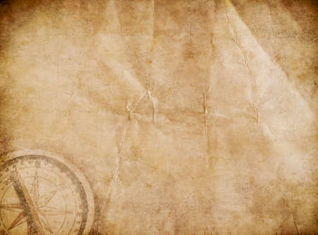 treasure: Aged pirates map background. Old treasure map.