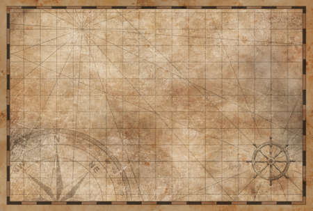old vintage map background