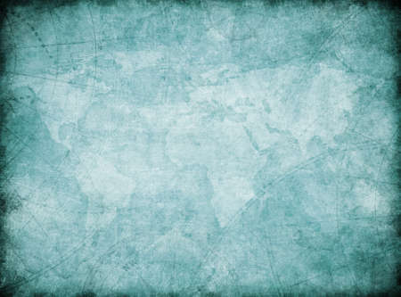 vintage world map background stylization Фото со стока
