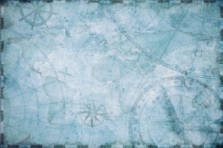 stare żeglarskie skarb mapa tle Zdjęcie Seryjne