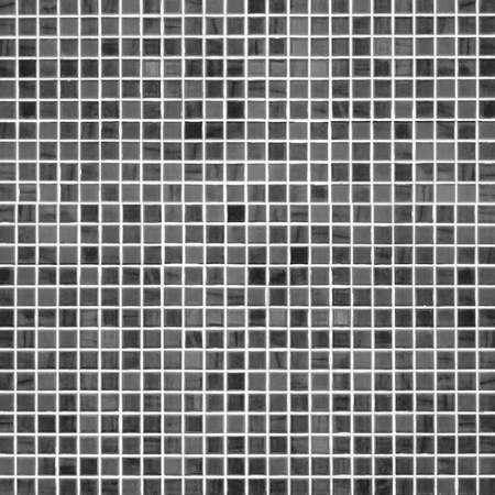 bathroom wall: Black ceramic bathroom tile wall for background Stock Photo