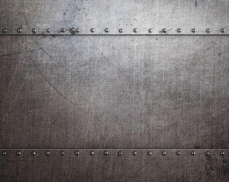 armoring: metal background