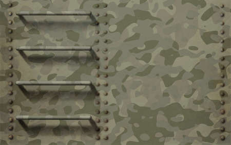 Green military metal background with camouflage 版權商用圖片