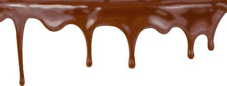 chocolate cake streams pattern vector illustration