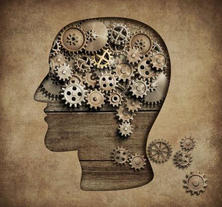 Psychology concept 3d illustration