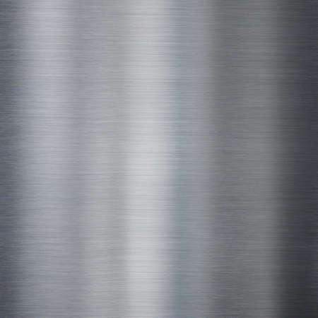 Metal brushed steel or aluminum texture Standard-Bild - 117269180