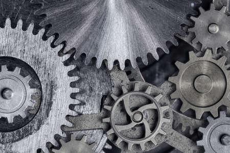 gears and cogs 3d illustration Standard-Bild - 117269218