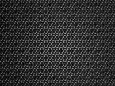 Black metal grid background 3d illustration Standard-Bild - 119270085
