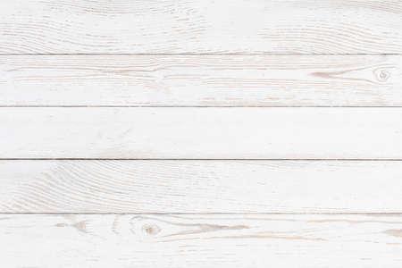 White wood background Standard-Bild - 119270107