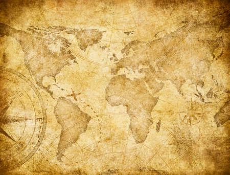 Vintage Style Old World Map Lizenzfreie Fotos, Bilder Und Stock ...