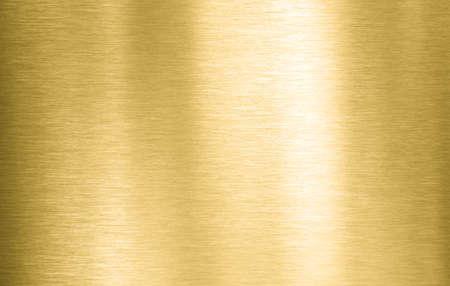 Piastra o struttura in metallo spazzolato dorato