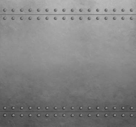 Metal steel armor plates background or texture