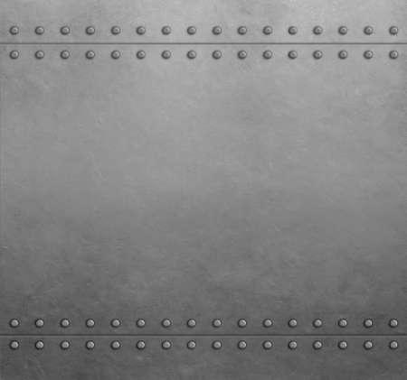 Metalowe stalowe płyty pancerne tło lub tekstura