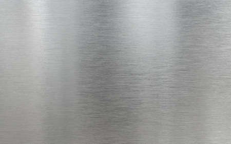Real metal aluminum brushed texture background Stockfoto