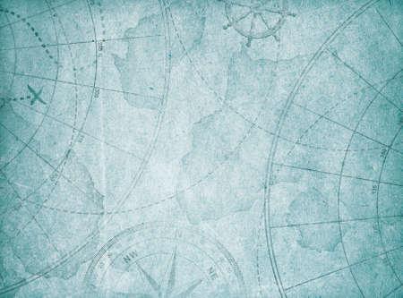 bleu vieux fond de carte abstraite.