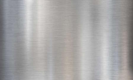 metal brushed steel or aluminum textured background Imagens