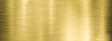 gold metal brushed wide textured plate or plaque