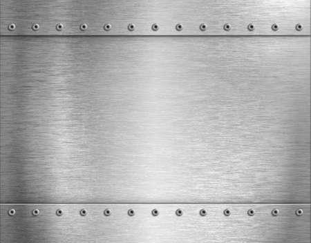 metal industrial background 3d illustration