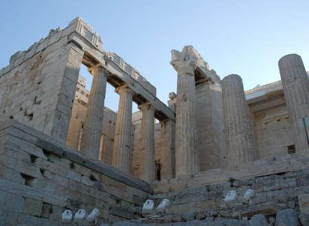 antica grecia: Le attrazioni di antiche vedute Grecia di Atene. Paesaggi della Grecia antica
