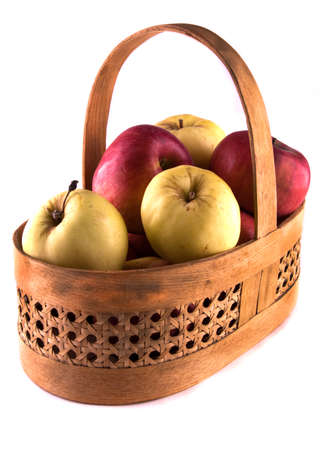 apples in a basket photo