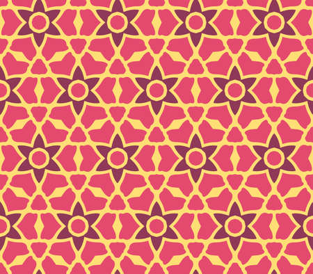 glass pattern: Vector illustration, geometric figure print, pattern concept Illustration