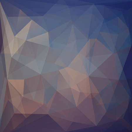 business continuity: Abstract geometric background with triangular polygons. Vector Illustration