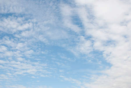 cirrus: blue sky and cirrus clouds on a sunny day