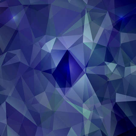 Abstract geometric background with polygons. Vector background Illustration