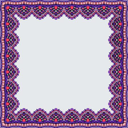 cadre décoratif. Vector fond blanc Vecteurs