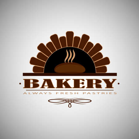 logo or badge for bakery or bakers shop