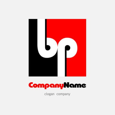 A logo bp red black eps8