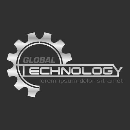 Global technology logo steel eps8