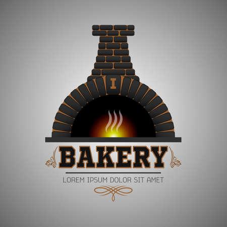 Logo bakery eps10