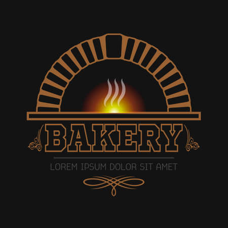 logo bakery  eps10 Illustration