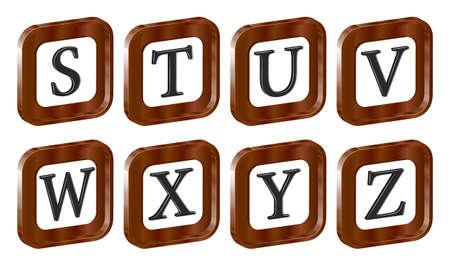アルファベット 3 d 文字 eps10
