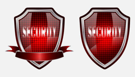 shild silver design icon security
