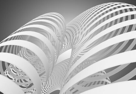 abstract swirl background. 3d illustration 版權商用圖片