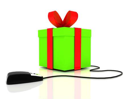 3d online gift concept
