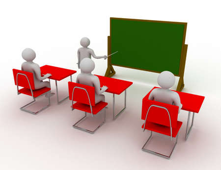 Concept of education and learning Stock Photo