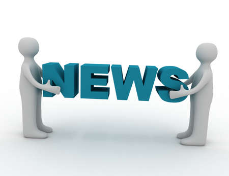 3d man and word news