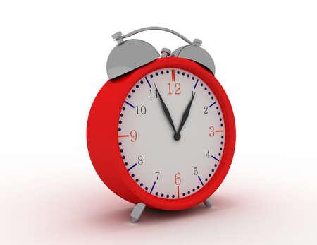 glossy alarm clock Stock Photo